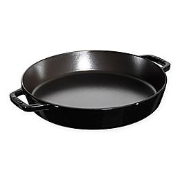 Staub 13-Inch Double-Handle Fry Pan in Matte Black