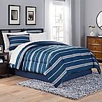 Taylor 8-Piece California King Comforter Set in Blue/Grey