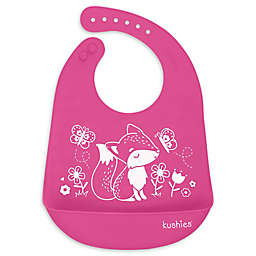 Kushies® Foxy Lady Silicatch Bib in Candy Fuchsia