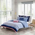 Echo Design™ Shibori Reversible Full/Queen Duvet Cover Set in Blue