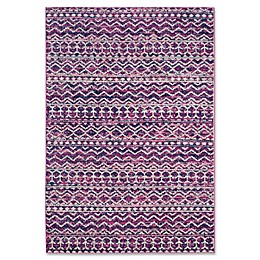 Safavieh Madison Lyanna Rug in Fuchsia/Navy
