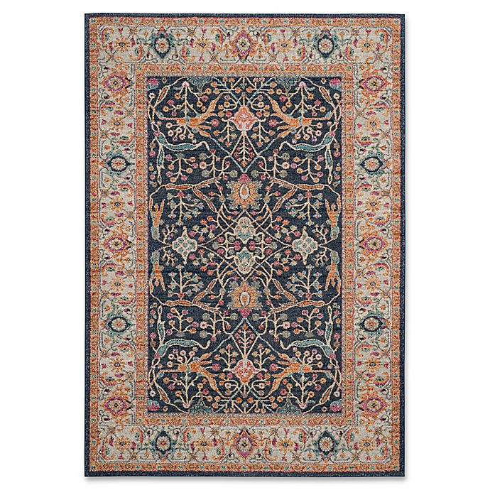 Alternate image 1 for Safavieh Madison Myrcella 8-Foot x 10-Foot Area Rug in Navy/Cream