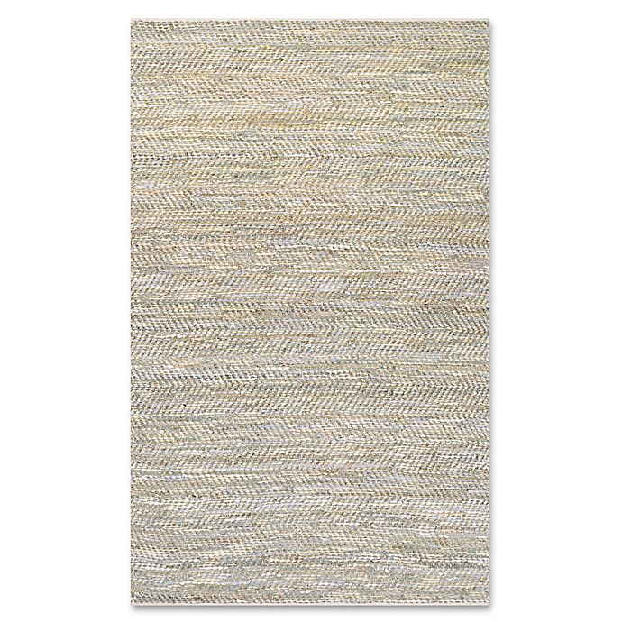 Alternate image 1 for Couristan® Nature's Elements Clouds Rug in Oatmeal/Blue
