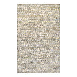 Couristan® Nature's Elements Clouds 6-Foot x 9-Foot Area Rug in Oatmeal/Blue