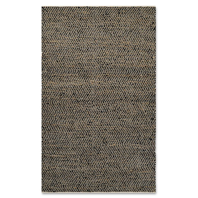 Couristan® Nature's Elements Ice Area Rug In Black