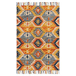 Magnolia Home by Joanna Gaines Brushstroke Santa Fe Rug in Spice