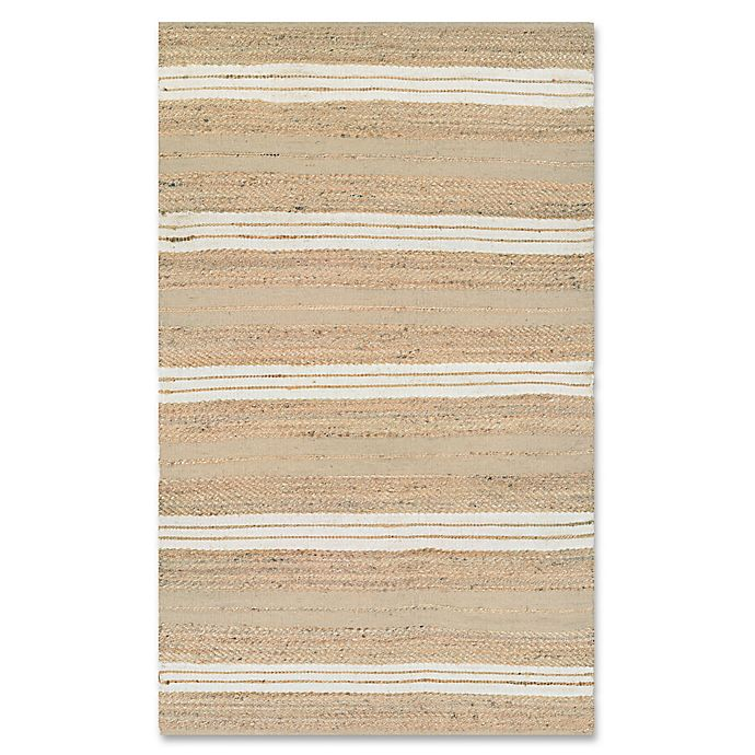 Alternate image 1 for Couristan® Nature's Elements Ray Rug in Natural/Ivory