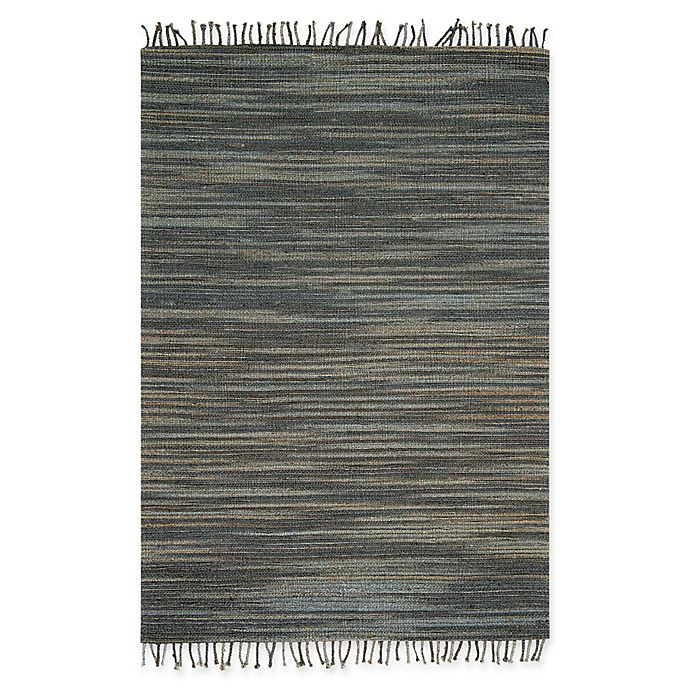 Alternate image 1 for Magnolia Home by Joanna Gaines Drake 2-Foot 3-Inch x 3-Foot 9-Inch Accent Rug in Storm