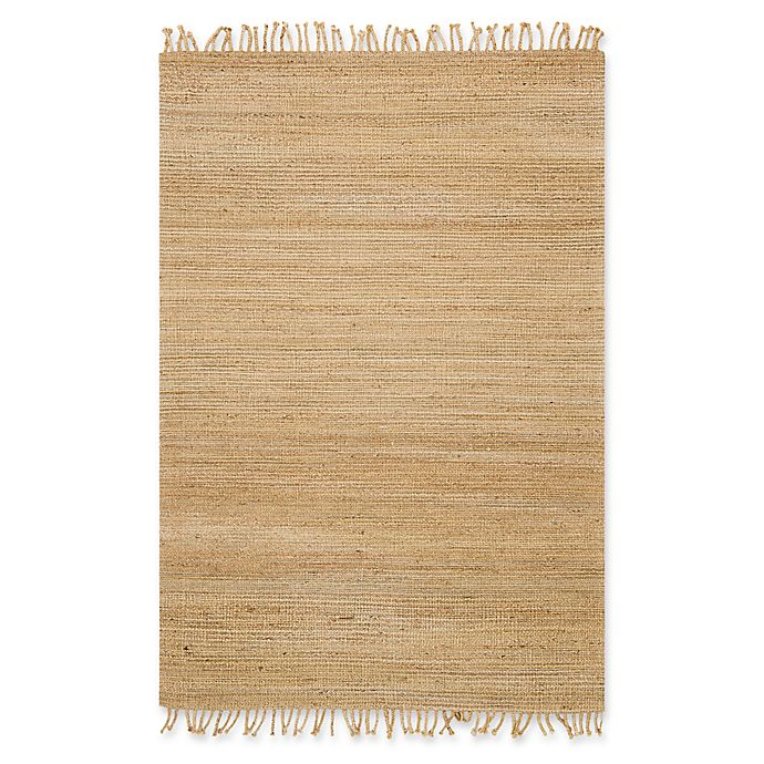 Alternate image 1 for Magnolia Home by Joanna Gaines Drake 2-Foot 3-Inch x 3-Foot 9-Inch Accent Rug in Natural