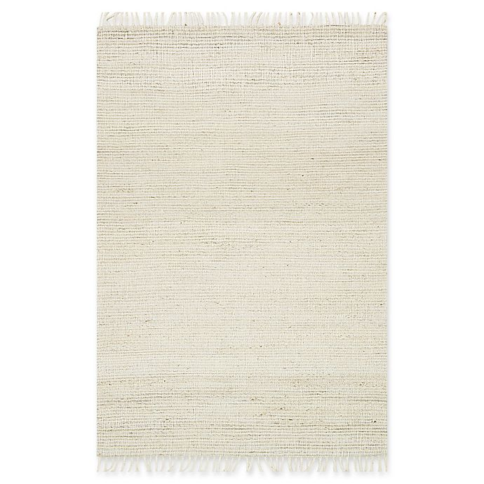 Alternate image 1 for Magnolia Home by Joanna Gaines Drake 2-Foot 3-Inch x 3-Foot 9-Inch Accent Rug in Bone