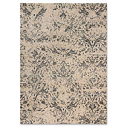 Magnolia Home By Joanna Gaines Kivi 6-Foot 7-Inch x 9-Foot 2-Inch Area Rug in Ivory/Ink