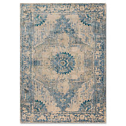 Magnolia Home By Joanna Gaines Kivi 2-Foot 7-Inch x 4-Foot Accent Rug in Sand/Sky