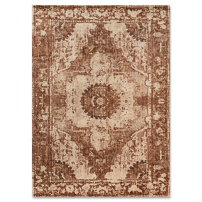 Alternate image 1 for Magnolia Home By Joanna Gaines Kivi 12-Foot x 15-Foot Area Rug in Sand/Rust