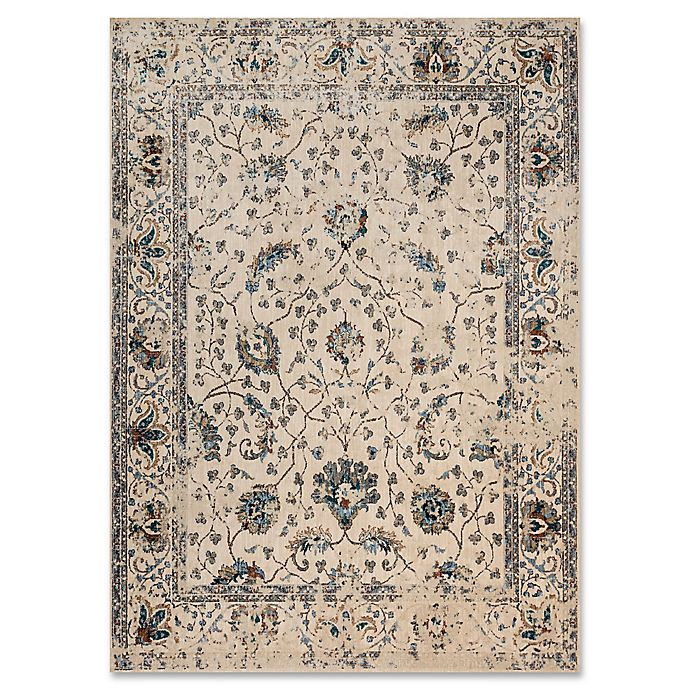 Alternate image 1 for Magnolia Home By Joanna Gaines Kivi 12-Foot x 15-Foot Area Rug in Ivory/Multi