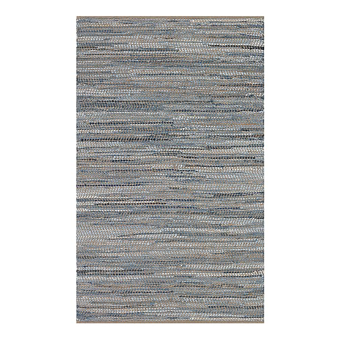 Alternate image 1 for Couristan® Nature's Elements Skyview 7-Foot 10-Inch x 10-Foot 10-Inch Area Rug in Denim