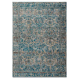 Magnolia Home By Joanna Gaines Kivi 2-Foot 7-Inch x 4-Foot Accent Rug in Fog/Mediterranean