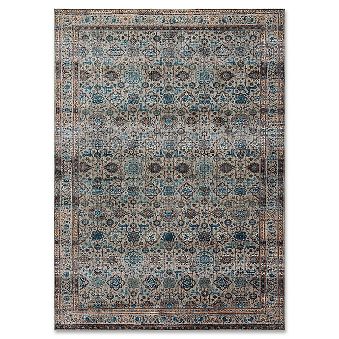 Magnolia Home By Joanna Gaines Kivi Rug In Fog Multi Bed