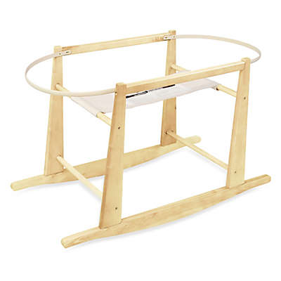Jolly Jumper® Rocking Moses Basket Stand in Natural