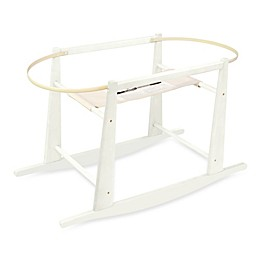 Jolly Jumper® Rocking Moses Basket Stand in Antique White