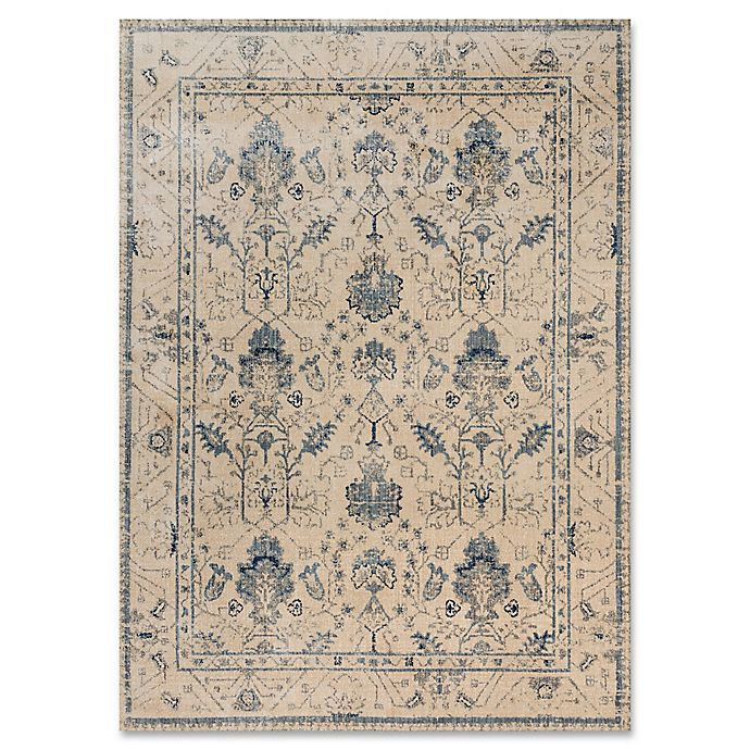 Alternate image 1 for Magnolia Home By Joanna Gaines Kivi 12-Foot x 15-Foot Area Rug in Ivory/Slate