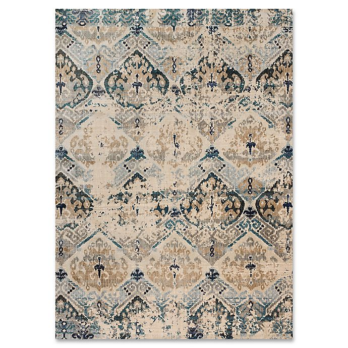 Alternate image 1 for Magnolia Home By Joanna Gaines Kivi 7-Foot 10-Inch x 10-Foot 10-Inch Area Rug in Sand/Ocean