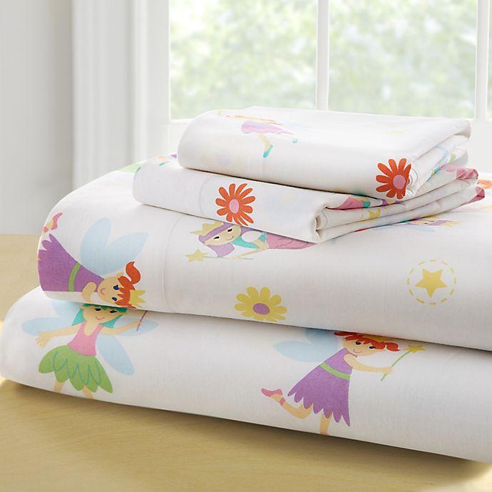 Alternate image 1 for Olive Kids™ Fairy Princess Sheet Set