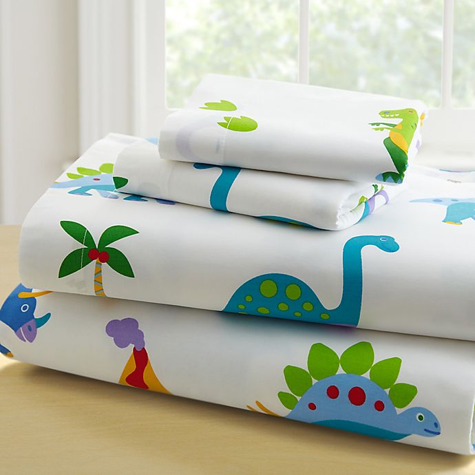 Alternate image 1 for Olive Kids™ Dinosaur Land 3-Piece Twin Sheet Set