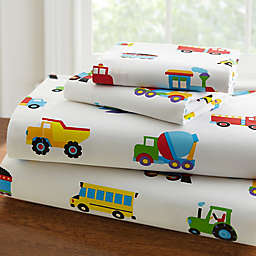 Olive Kids™ Trains, Planes, Trucks Sheet Set