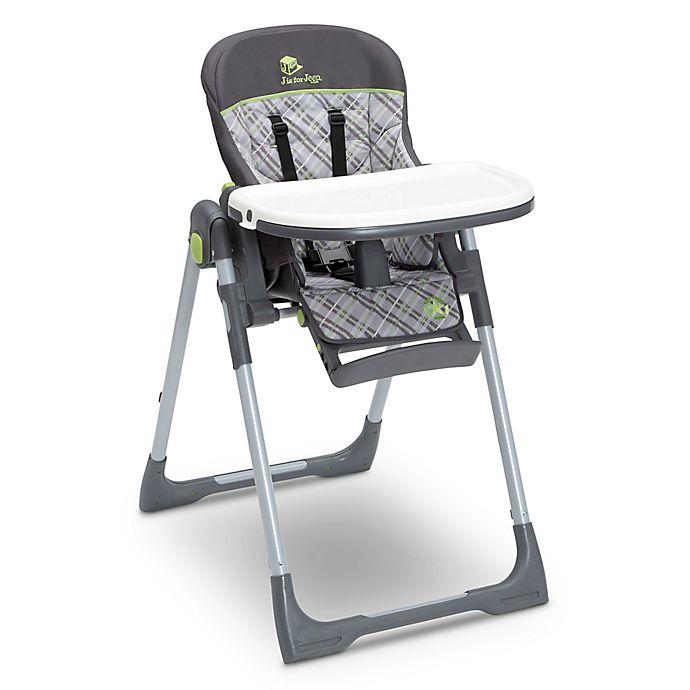Alternate image 1 for Delta J is for Jeep® Classic Fairway High Chair in Grey