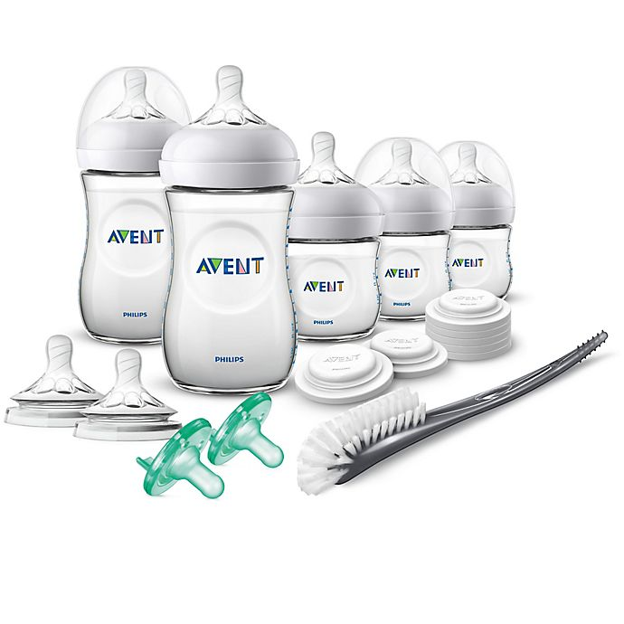 Alternate image 1 for Philips Avent Natural Baby Bottle Newborn Starter Gift Set