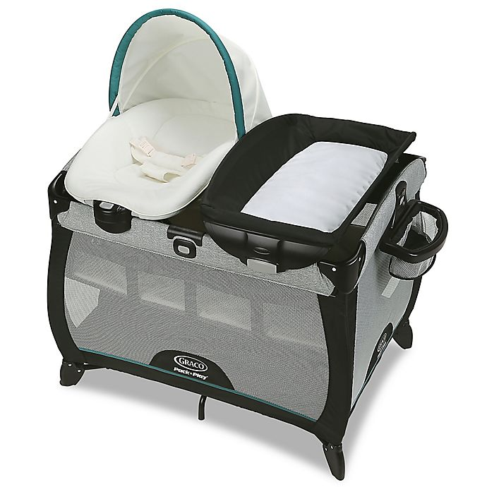 Alternate image 1 for Graco® Pack 'n Play Playard Quick Connect Portable Napper with Bassinet in Darcie