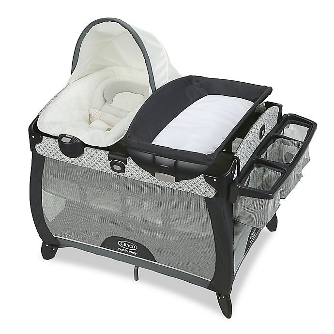 Alternate image 1 for Graco Pack 'n Play Quick Connect Portable Napper Deluxe with Bassinet in McKinley