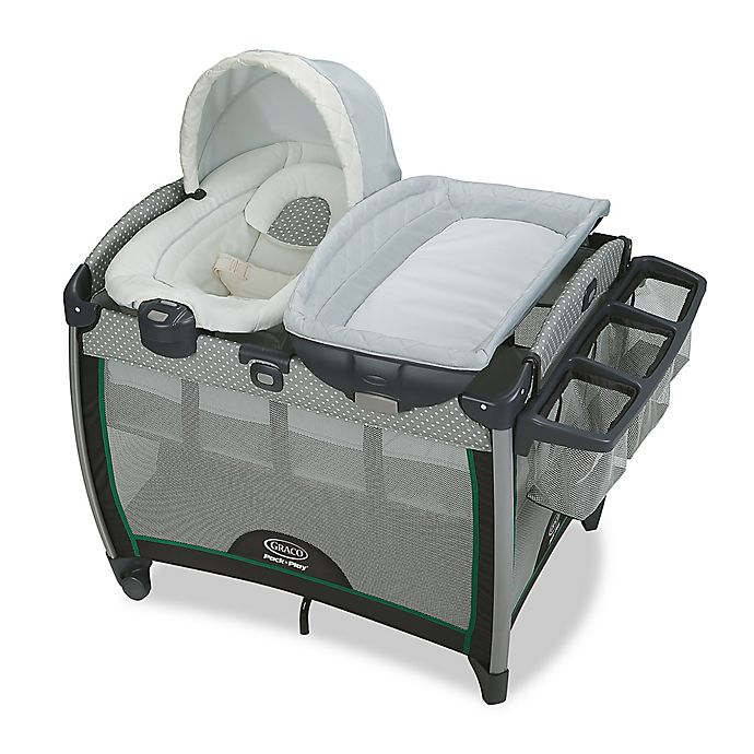 Alternate image 1 for Graco Pack 'n Play Quick Connect Portable Bouncer with Bassinet in Albie