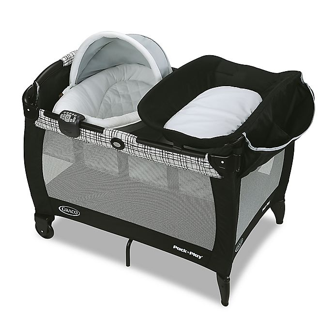 Alternate image 1 for Graco® Pack 'n Play® Newborn Napper and Bassinet with Soothe Surround in Teigen™