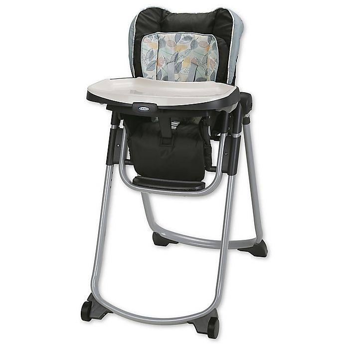 Graco 174 Slim Spaces Folding High Chair In Trail Buybuy Baby