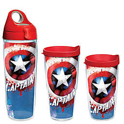 Tervis® Marvel® Captain America 10 oz. Wavy Wrap Drinkware