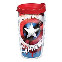 Tervis® Marvel® Captain America 10 oz. Wavy Wrap Tumbler with Lid