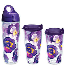 Tervis® Watercolor Pansy Wrap Drinkware