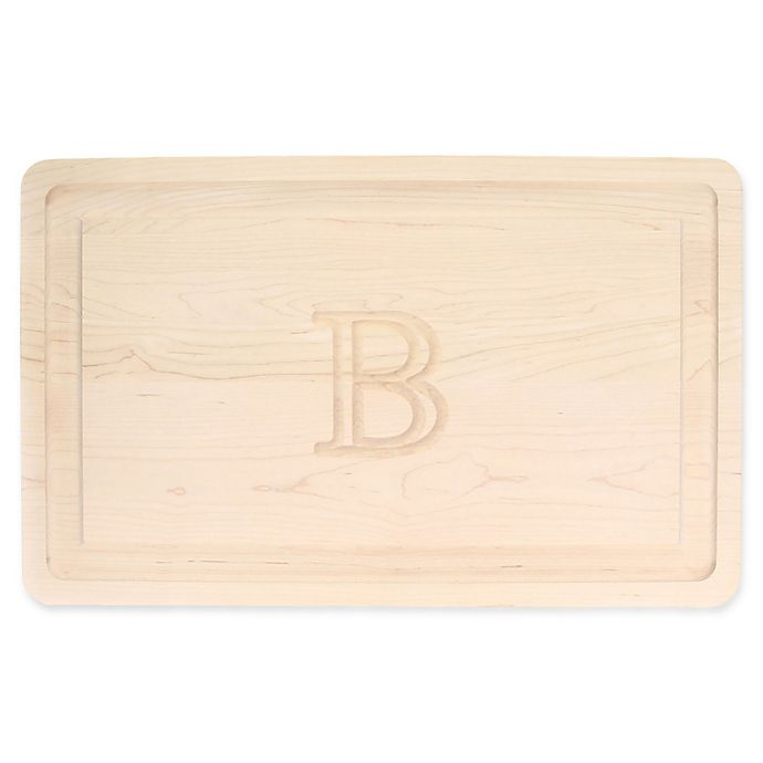 Alternate image 1 for The Cutting Board Company BigWood 15-Inch x 24-Inch Letter \