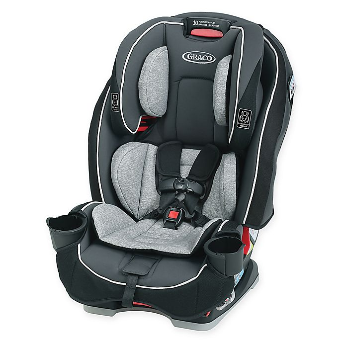 Alternate image 1 for Graco® SlimFit™ All-in-One Convertible Car Seat in Darcie
