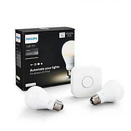 Philips Hue White A19 Starter Kit