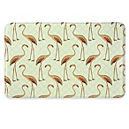 Bacova 22-Inch x 35-Inch Floridian Flamingo Memory Foam Kitchen Mat in Pink/Beige