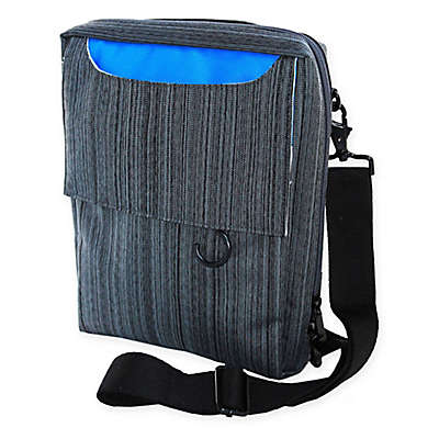 WALTER + RAY TAB Fit Slim Onboard Organizer in Grey/Blue