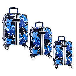 Tommy Hilfiger® Blue Floral Hardside Spinner Luggage