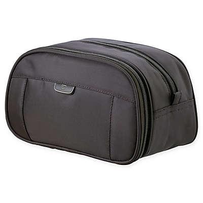 Go Travel Dual Washbag in Black