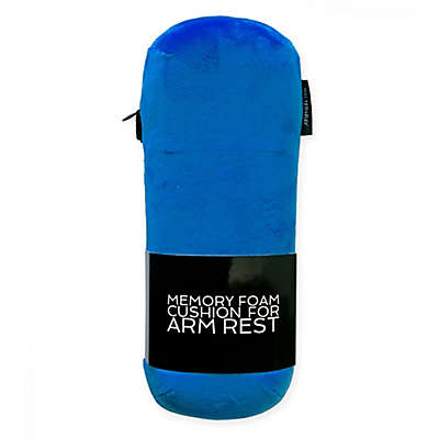 Walter+Ray ArmPillow V2™ Memory Foam Armrest Cushion in Sky Blue
