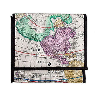 Walter+Ray TAB Seatback Pocket Liner in World Print