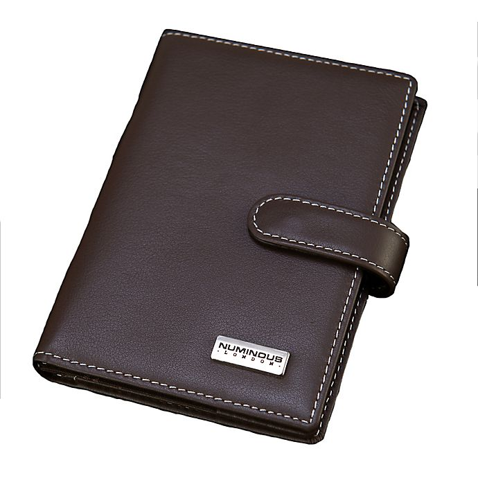 Alternate image 1 for Numinous London RFID-Protected Passport Holder in Brown