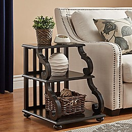 iNSPIRE Q® Blanche Tiered End Table