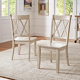 Verona Home Marigold Hill X Back Chairs (Set of 2)